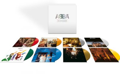 ABBA- All the albums on limited coloured vinyl, in a box set